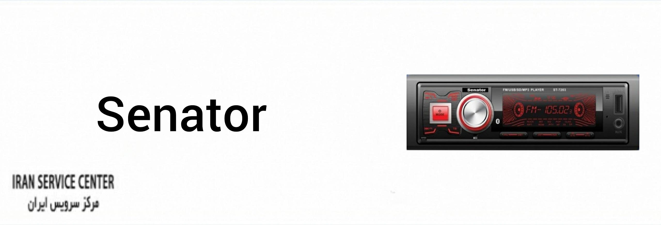 نمایندگی تعمیرات ضبط خودرو سناتور (senator)